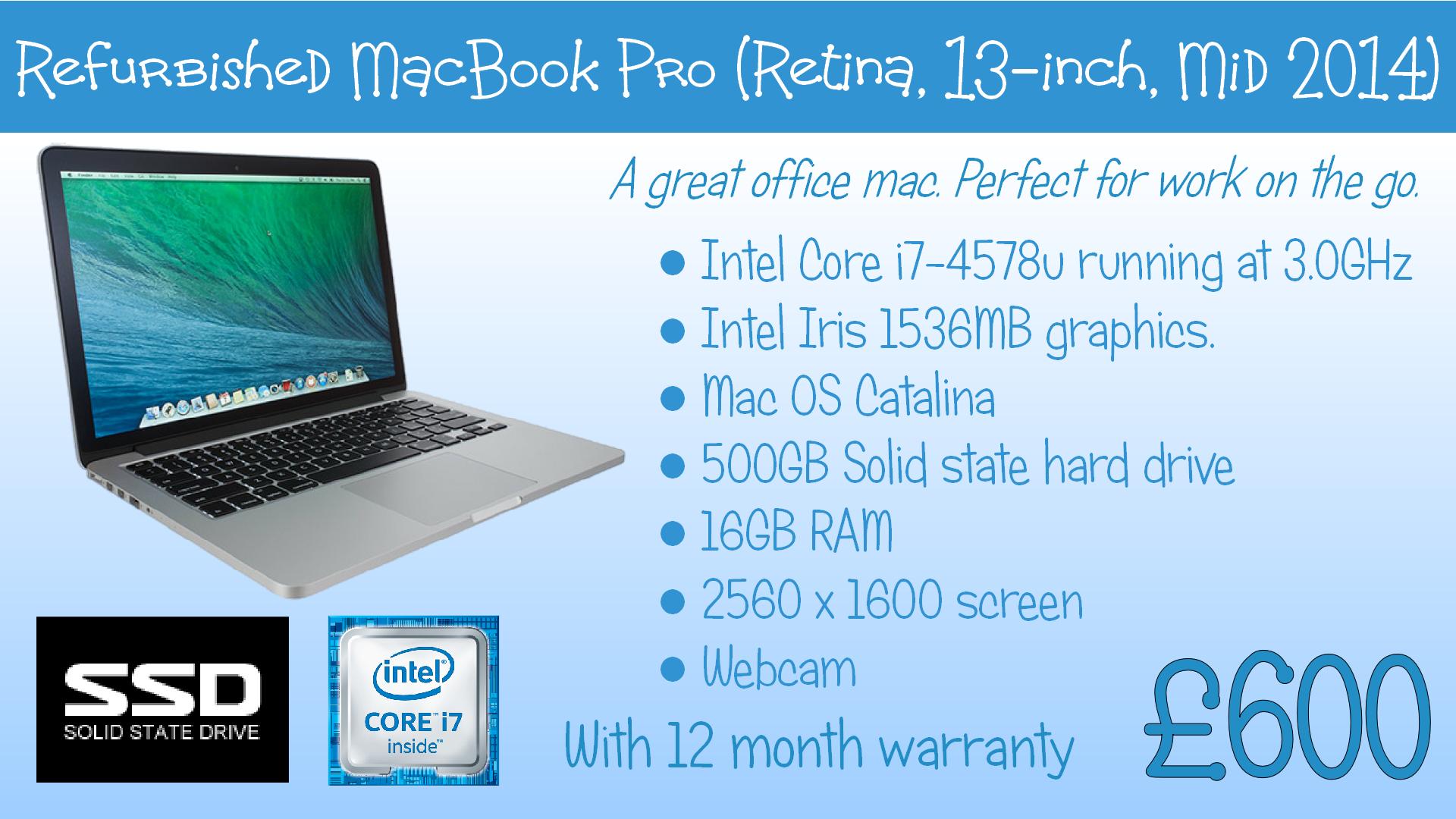 Mid 2014 Mac book Pro